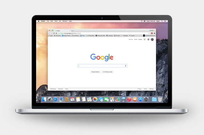 Браузер Google Chrome для Mac OS бесплатно